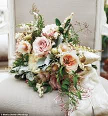 wedding flowers for guests lively and martha stewart styled wedding
