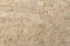 kesir travertine mosaic stacked stone brick series noce 1