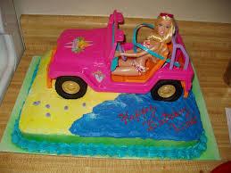 blue barbie jeep beach barbie cakecentral com