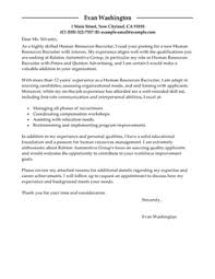 cover letter job recruiter a their how to write an essay