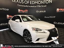 lexus is350 white 2015 used 2017 lexus is 350 f sport awd 4 door car in edmonton ab l12488