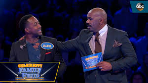 thanksgiving family feud questions jaleel white hits all no 1 answers celebrity family feud youtube
