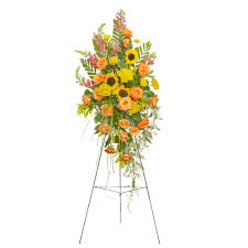 floral spray heaven s sunset standing spray from seasons floral