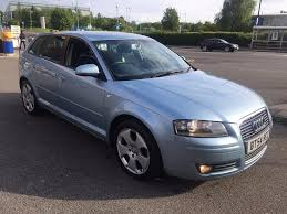 audi a3 tdi sport diesel 6 speed manual 2005 5dr blue 1 owner