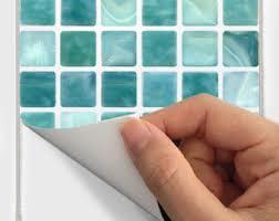 Vinyl Wall Tiles For Kitchen - wall tile decals vinyl sticker waterproof tile or wallpaper