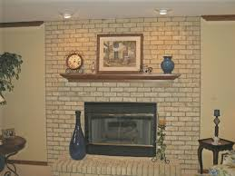 Fireplace Brick Stain by Painted Brick Fireplace Ideas Binhminh Decoration