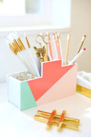 How To Make Desk Organizers by Diy Desk Organization 23 Diy Ideen F 252 R Schreibtisch