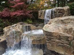 bellus terra backyard waterfall installation gallery