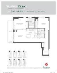 One Bloor Floor Plans by Yonge Parc Condos Richmond Hill By Pemberton