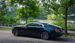 rolls royce sports car the baddest rolls royce ever wraith black badge rides u0026 drives
