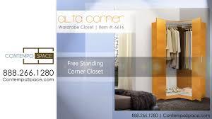 alta corner wardrobe closet