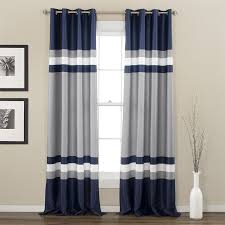 Red White Striped Curtains Curtain Magnificent Rugby Stripe Curtains Outstanding Pattern And