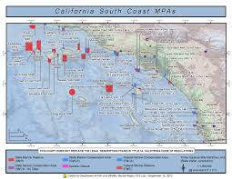 Map Southern California Marine Protected Areas Los Angeles County Fire Department