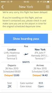 who had the first thanksgiving review british airways first class london to new york jfk on