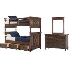 Big Bunk Bed City Furniture Big Sur Tone Bunk Bed Storage Bedroom