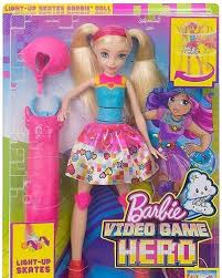 barbie movies images barbie video game hero light skates