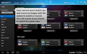 direct tv apk directv releases tablet app for android droid