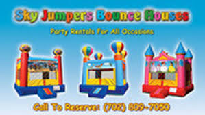 party rentals las vegas sky jumpers bounce houses party rentals las vegas nevada