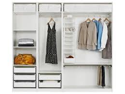 bedroom stunning open closet system by ikea modern interior