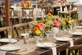 Rustic Vases For Weddings Chapel Wedding Ceremony Colorful Outdoor Rustic Reception In Sc