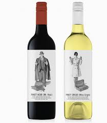 Unusual Wine Bottles Wine Label Graphic Design Pacq Co