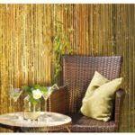 raumtrenner falttr bambus als terassenüberdachung so wirds gemacht