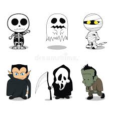 Halloween Ghost Costumes Cute Halloween Ghost Costumes Royalty Free Stock Images Image