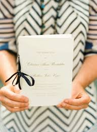 wedding programs with ribbon ribbon wedding programs elizabeth designs the wedding