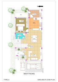 Row House Floor Plan by Row Houses In Chennai 3 Bhk Villas Before Toll In Ecr All