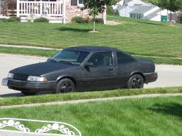 here s an older model chevrolet cavalier painted with truck bedliner the paint on these 1980 s vintage vehicles often oxidized and led away