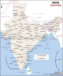 airports in india india airports map