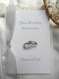 60p each wedding anniversary invitations silver ruby golden