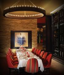 modern restaurant interior design envy steakhouse las vegas