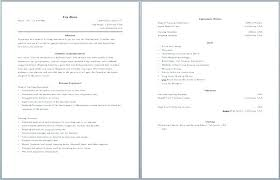 pages resume template 2 2 page resume template collaborativenation