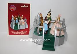 hallmark 2003 click your heels ornament the wizard of oz qxi7487