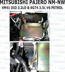 dual battery batteries tray mitsubishi pajero nm ns nt np nl 2001