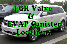 Dodge Journey Body Kit - dodge journey how to find egr valve and evap canister location