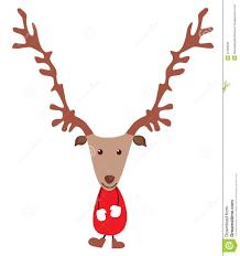 christmas deer christmas deer stock vector illustration of isolated 27358535