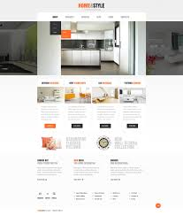 website template 42628 home style interior custom website
