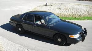 could it be illegal to drive an ex cop car