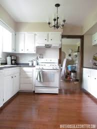 renovating kitchens ideas new floors really make this kitchen shine via white house black
