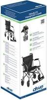 patient transfer chair on casters folding tc005gy drive