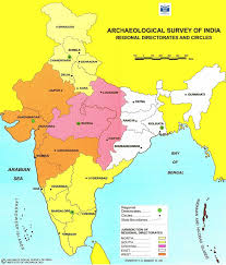 India Political Map Archaeological Survey Of India Bhopal India Map