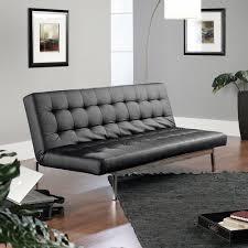 black convertible sofa sauder studioedge avenue convertible sofa black duraplush