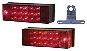 submersible led boat trailer lights amazon com peterson v947 piranha led trailer light kit automotive