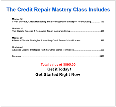 Sle Credit Card Charge Dispute Letter on demand credit repair mastery class credit repair software