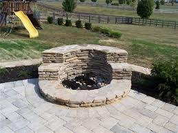 Small Firepit Small Outdoor Patio Designs Plans With Pit Search
