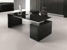 Glass Office Desk Glass Executive Desk With Drawers Modi Glass Office Desk Modi