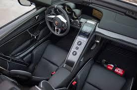 porsche stinger interior 2015 porsche 918 spyder second drive motor trend