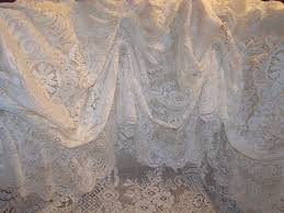 Antique French Lace Curtains by Shower Curtains Vintage Style Home Design Living Room Furniture